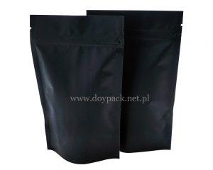 Czarna papierowa torba