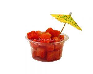 Kubki małych owoców
