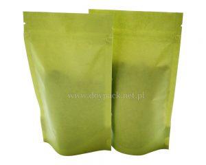 Zielona torba papierowa