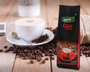 Opakowania ziaren kawy