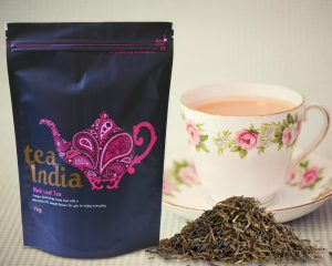 Niestandardowe torebki herbaty
